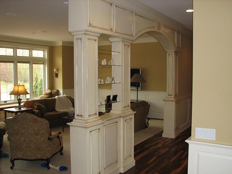 glazed custom room divider 1 1 Behnke WoodworkingBehnke Woodworking